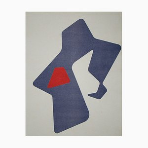 Lithograph by Jean Arp, 1951