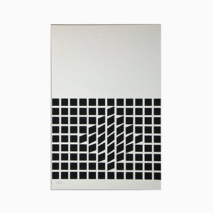 Composition Screen Print by Victor Vasarely, 1962