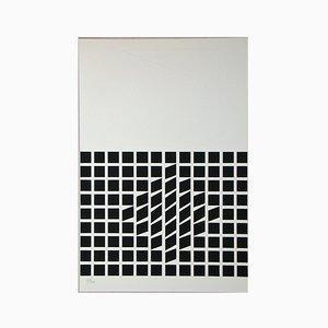 Sérigraphie Composition par Victor Vasarely, 1962
