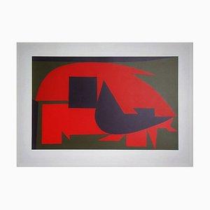 Victor Vasarely, Garam, 1949, Litografía