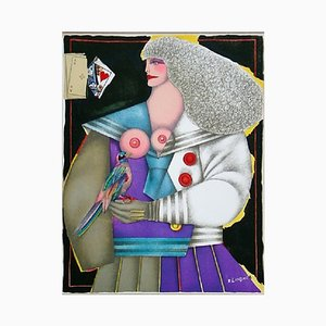Composition for Twentieth-Century Lithograph by Richard Lindner, 1974
