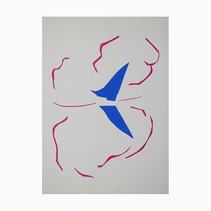 The Sail Lithograph after Henri Matisse, 1961