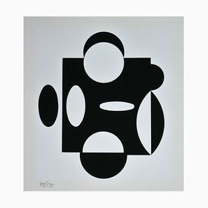 Terreur Serigraph by Victor Vasarely, 1988
