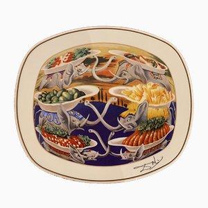 Délicieuse Little Martyrs en Porcelaine d'après Salvador Dali, 1981