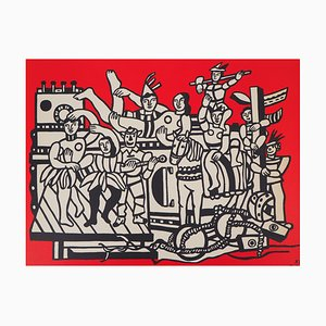 Vintage the Great Circus Parade Lithograph after Fernand Léger
