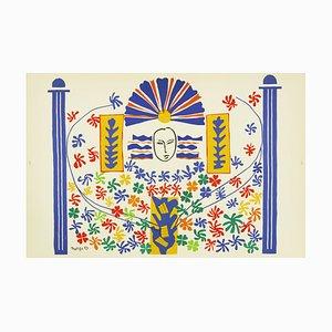 Litografia Apollo di Henri Matisse, 1958