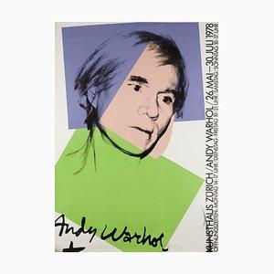 Kunsthaus Zürich Plakat von Andy Warhol, 1978
