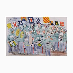 The Band Lithographie von Raoul Dufy, 1949