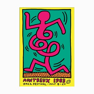 Montreux Jazz Festival Poster by Keith Haring, 1983