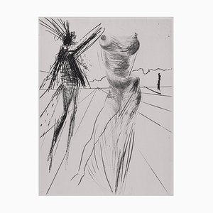 Envelopes Faust Etching by Salvador Dali, 1969