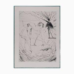 Women Hens Faust Radierung von Salvador Dali, 1969