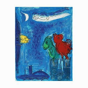 The Monsters of Our Lady Lithograph by Marc Chagall, 1954