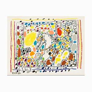 Litografía Picador II de Pablo Picasso, 1961
