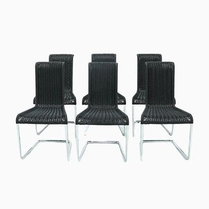 B20 Dining Chairs by Axel Bruchhäuser for Tecta, 1980s, Set of 6
