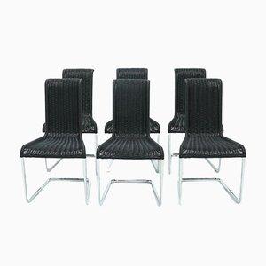 B20 Esszimmerstühle von Axel Bruchhäuser für Tecta, 1980er, 6er Set