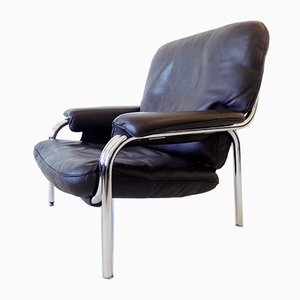 Leather Kangaroo Lounge Chair by Hans Eichenberger for de Sede, 1970s