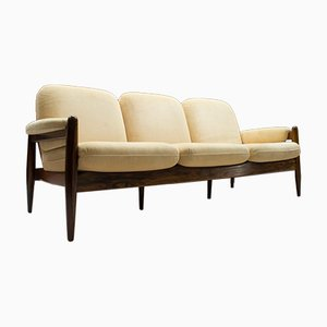 Mid-Century Danish 3-Seater Rosewood Sofa, 1960s