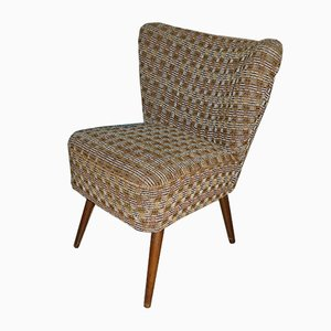 Small Mid-Century Brown Club Chair, 1960s