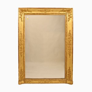Early 19th Century Fireplace Mirror with Golden Frame