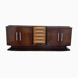 Art Deco Rosewood Sideboard from Soc.An.Ambrosetti Lissone, 1930s