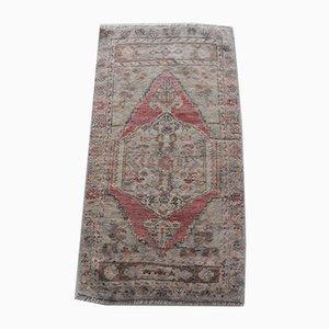 Small Turkish Distressed Carpet, 1970s