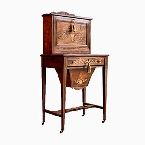 Antique Napoleon III Desk, 1870s