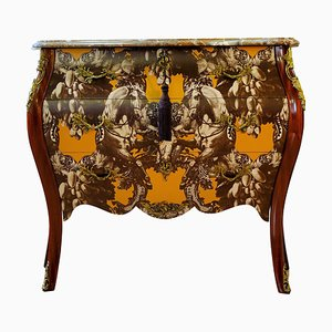 Rococo 3-Drawer Chest with Marble Top