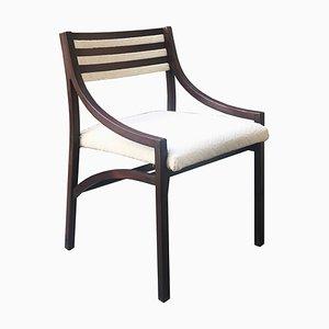 Sedia da pranzo modello 110 Mid-Century in palissandro di Ico Luisa Parisi per Cassina