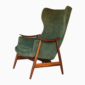 Norwegian Armchair by Gerhard Berg, 1960s