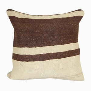 Natural Hemp Turkish Kilim Rug Throw Cushion Cover