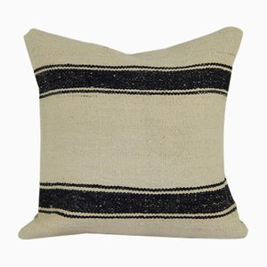 Turkish Striped Design Anatolian Kilim Cushion Cover