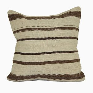 Turkish Handmade Organic Nomadic Kilim Cushion Cover