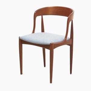 Mid-Century Danish Model 16 Dining Chairs by Johannes Andersen for Uldum Møbelfabrik, 1950s, Set of 4