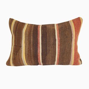 Turkish Tribal Decorative Kilim Lumbar Cushion Cover Case