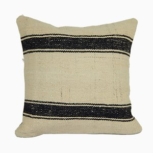 Neutral Organic Turkish Hemp Cushion Cover