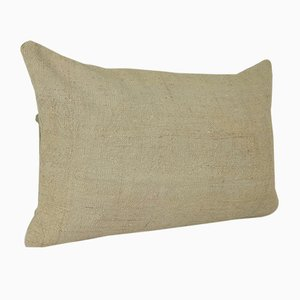 Turkish Hemp Kilim Rug Cushion Cover