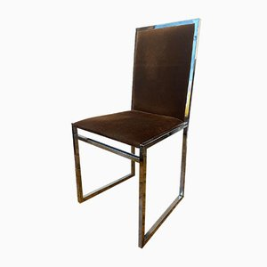 Mid-Century Dining Chairs by La Metal Arredo Milan, Set of 6