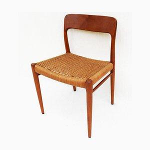 Esszimmerstühle aus Teak von Niels Otto Møller für JL Møllers, Dänemark, 1960er, 4er Set