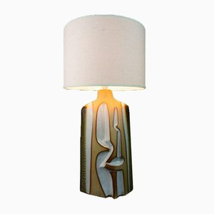 Large Sculptural Tremaen Pottery Zennor Table Lamp, 1970s