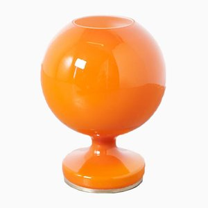 Orange Table Lamp by Stepan Tabery for OPP Jihlava, 1970s