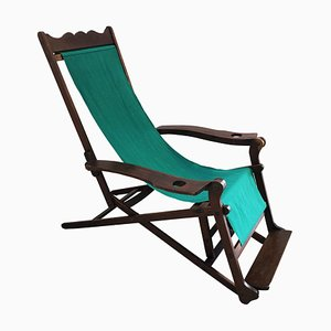 Antique Deck Chair, Italy, 1900s