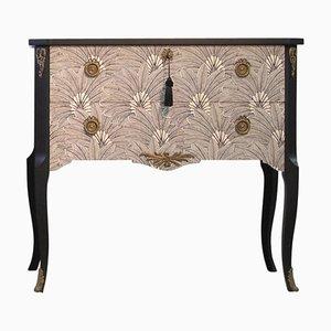 Vintage Gustavian Louis XV Style Brasilia Design Chest or Commode