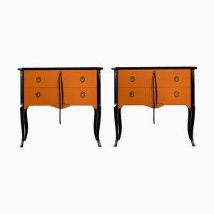 Vintage Louis XV Kommode, 2er Set