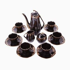 Mid-Century Modell Iza Kaffeeservice aus Porzellan von Józef Wrzesień für Fabryka Porcelany Chodzież, 1960er