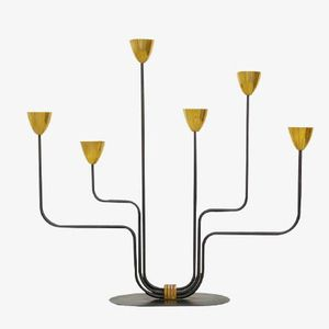 Candle Holder by Gunnar Ander for Ystad, 1954