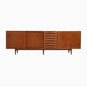 Large Danish Model 29A Sideboard by Arne Vodder for Sibast, 1960s