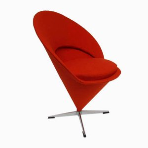 Mid-Century Cone Chair by Verner Panton for Fritz Hansen