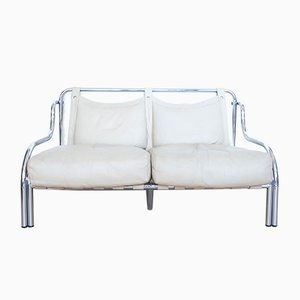 Stringa 2-Seat Sofa by Gae Aulenti for Poltronova, 1960s