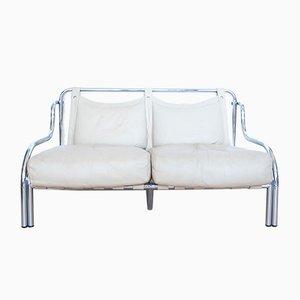 Stringa 2-Sitz Sofa von Gae Aulenti für Poltronova, 1960er