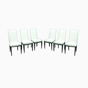 Italian Dining Chairs by Vittorio Dassi, 1950s, Set of 6